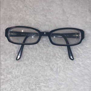 Black Chanel eyeglasses